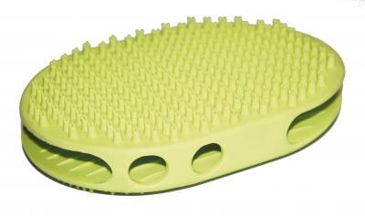Croci Spa GlamGel dvigubas guminis šepetys-masažuoklis