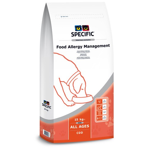Specific CDD FOOD ALLERGY MANAGEMENT 15kg.
