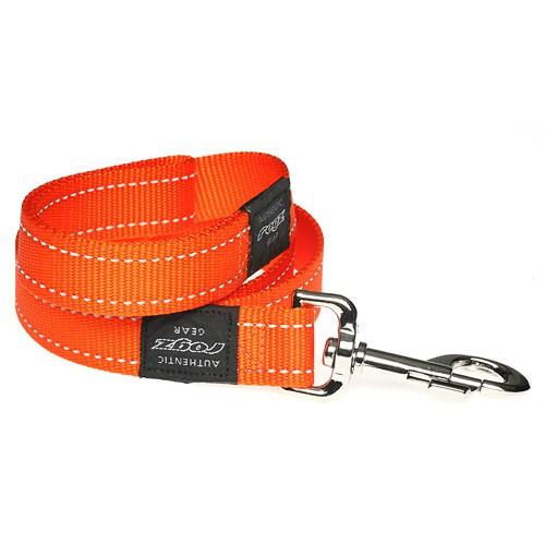 Rogz pavadys su atšvaitu HL06D Orange 1,4m-2cm