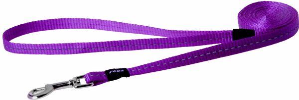 Rogz pavadys su atšvaitu HL14E Purple 1,8m-1,1cm