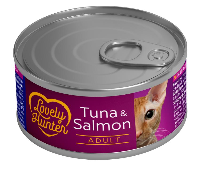 Lovely Hunter Tuna & Salmon 85gr