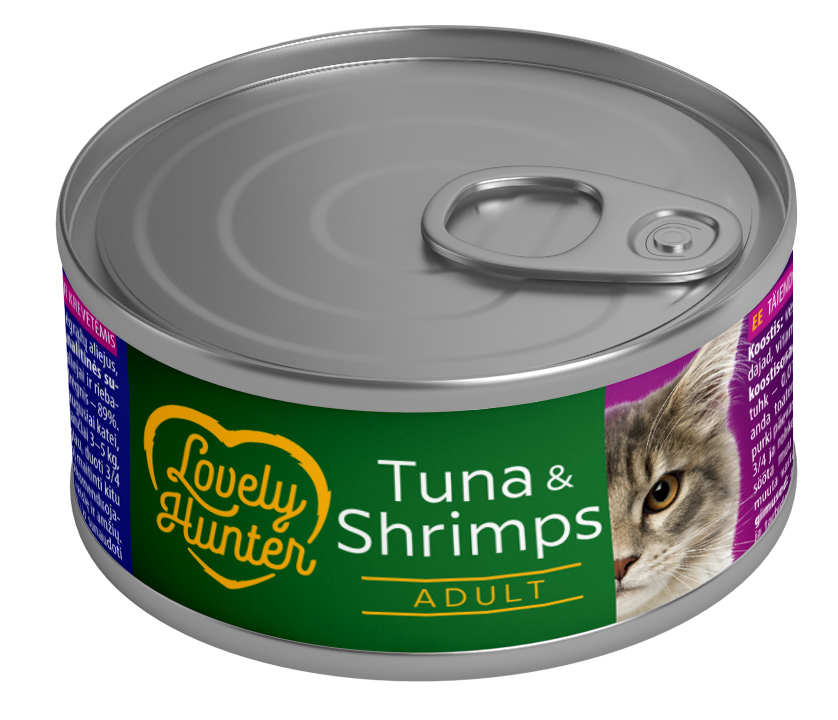 Lovely Hunter Tuna & Shrimps 85gr