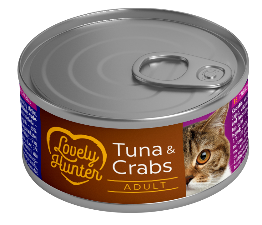 Lovely Hunter Tuna & Crabs 85gr