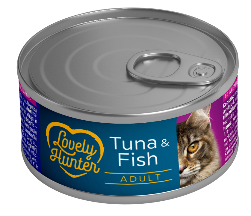 Lovely Hunter Tuna & Fish 85gr