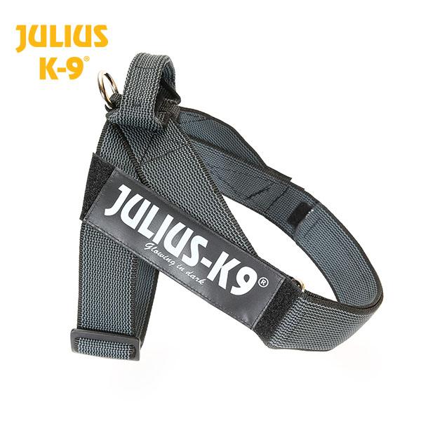 Petnešos Julius K9 Color and Gray Belt  juodos 1 dydis