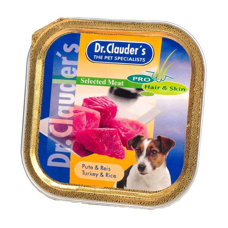 Dr.Clauder kalakutas su ryžiais konc. su prebiotikais šunims 100gr