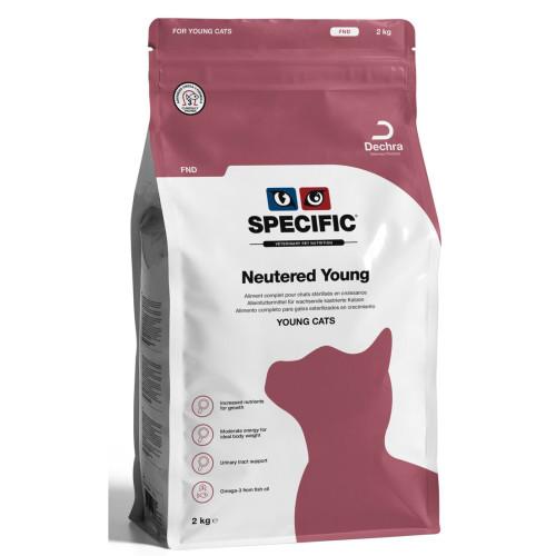 Kačių maistas Specific FND NEUTERED YOUNG 2kg.