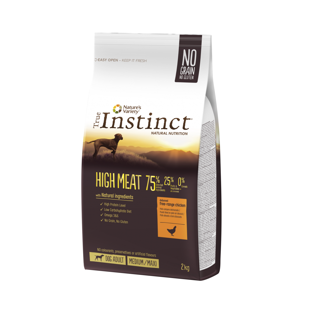 True Instinct HIGH MEAT Medium Maxi adult 2kg