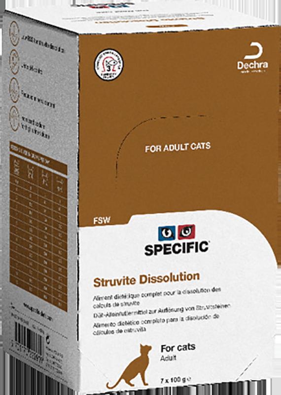 Specific FSW STRUVITE DISSOLUTION 7 x 100gr.