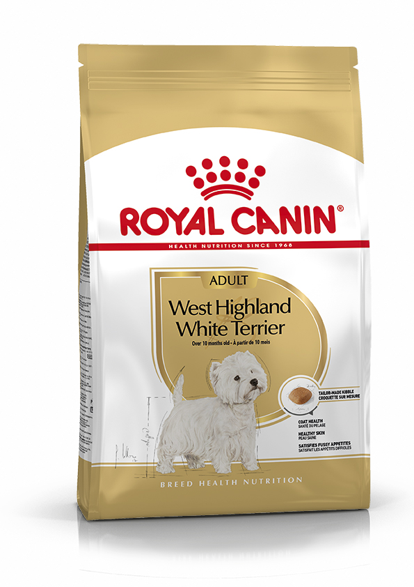 Royal Canin West Highland White Terrier Adult 3kg.