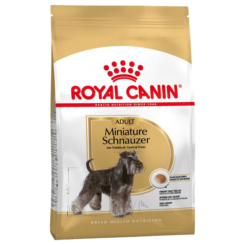 Royal Canin Miniature Schnauzer Adult 7,5kg.