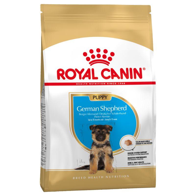 Šunų maistas Royal Canin German Shepherd Junior 12kg.