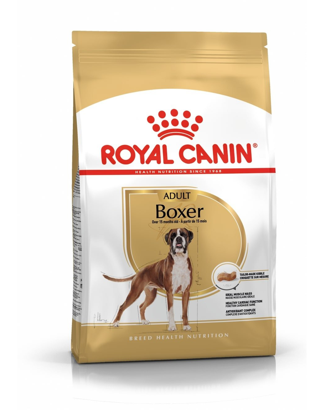 Šunų maistas Royal Canin Boxer Adult 12kg.