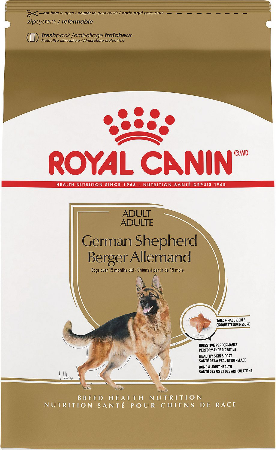 Šunų maistas Royal Canin German Shepherd Adult 11kg.