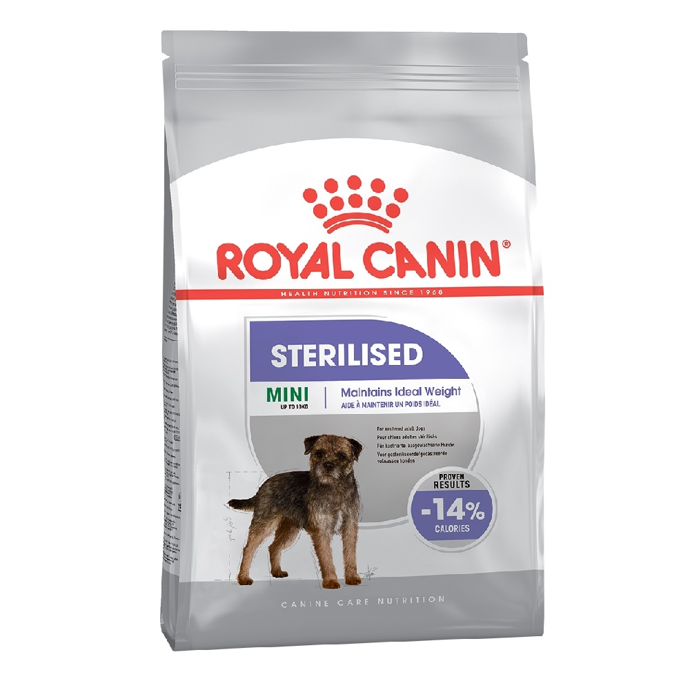 Šunų maistas Royal Canin Mini Sterilised Adult 2kg.
