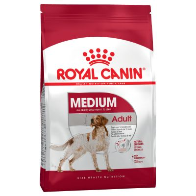 Šunų maistas Royal Canin Medium Adult 15kg.