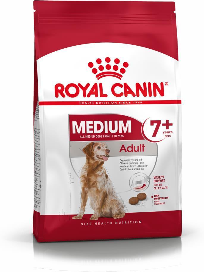 Royal Canin Medium Adult +7 15kg.