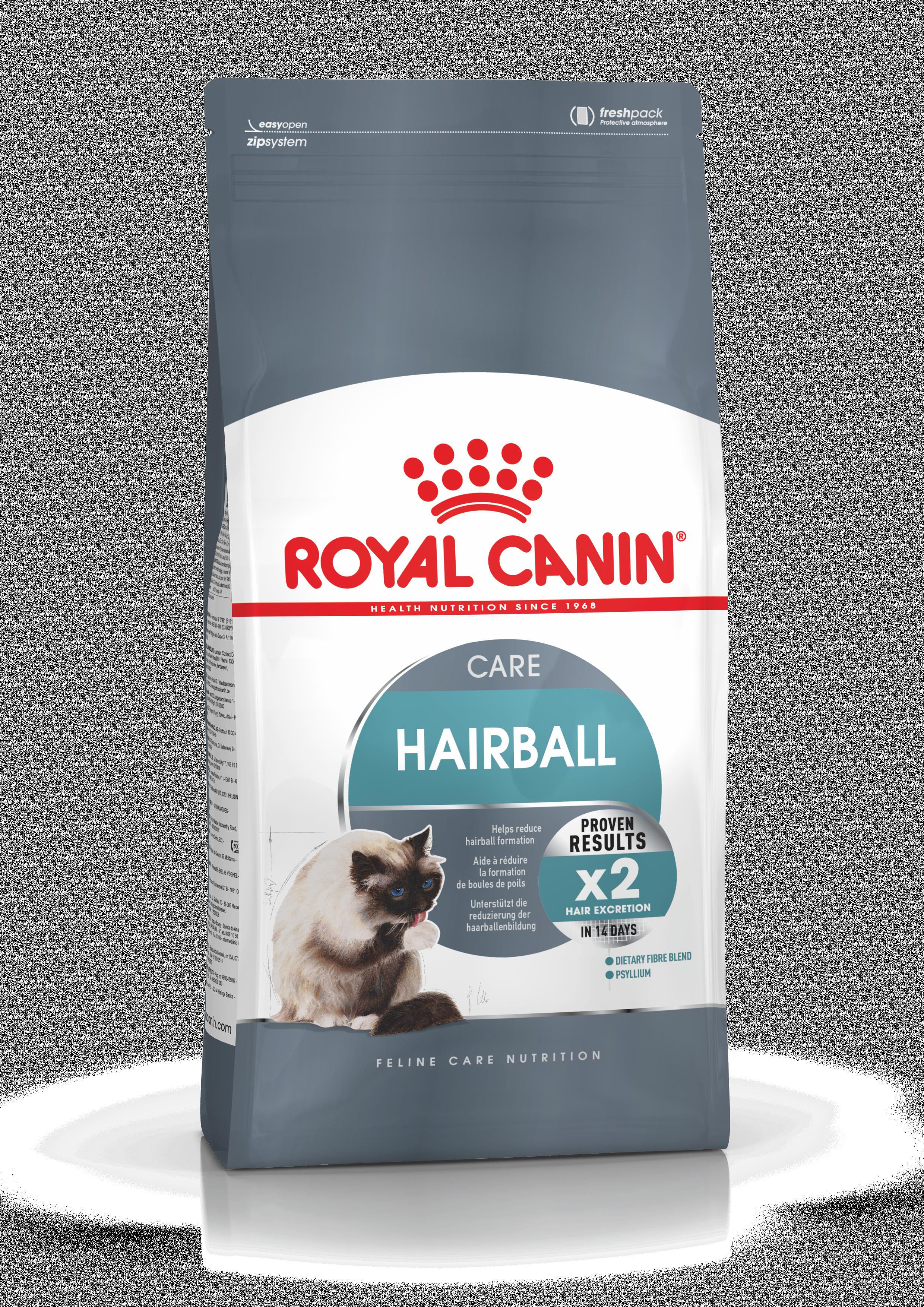 Kačių maistas Royal Canin Hairball Care 10kg.