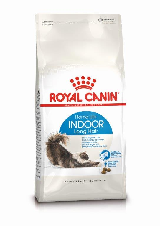 Kačių maistas Royal Canin Indoor Long Hair 10kg.