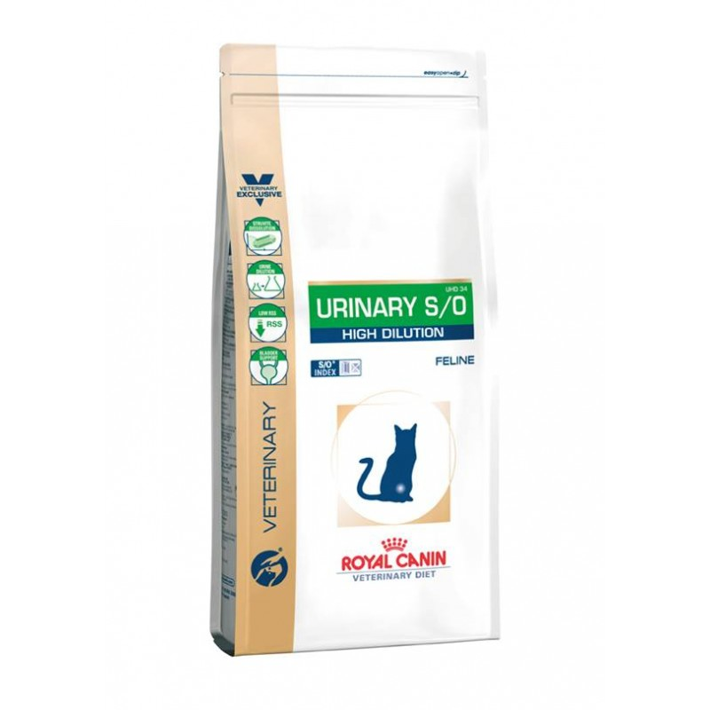 Royal Canin Feline Urinary S/O High Dilution 7kg.