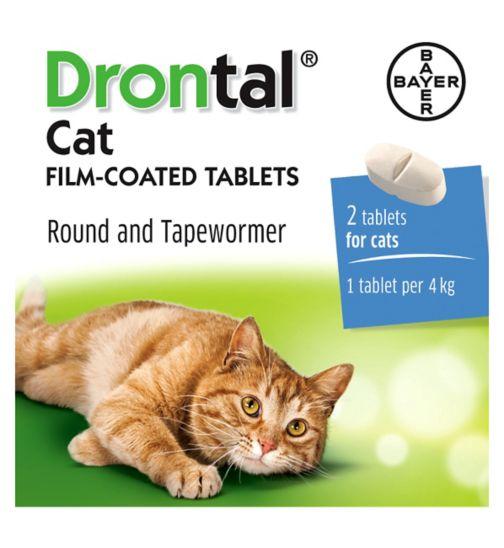 DRONTAL cat tabletės, N2