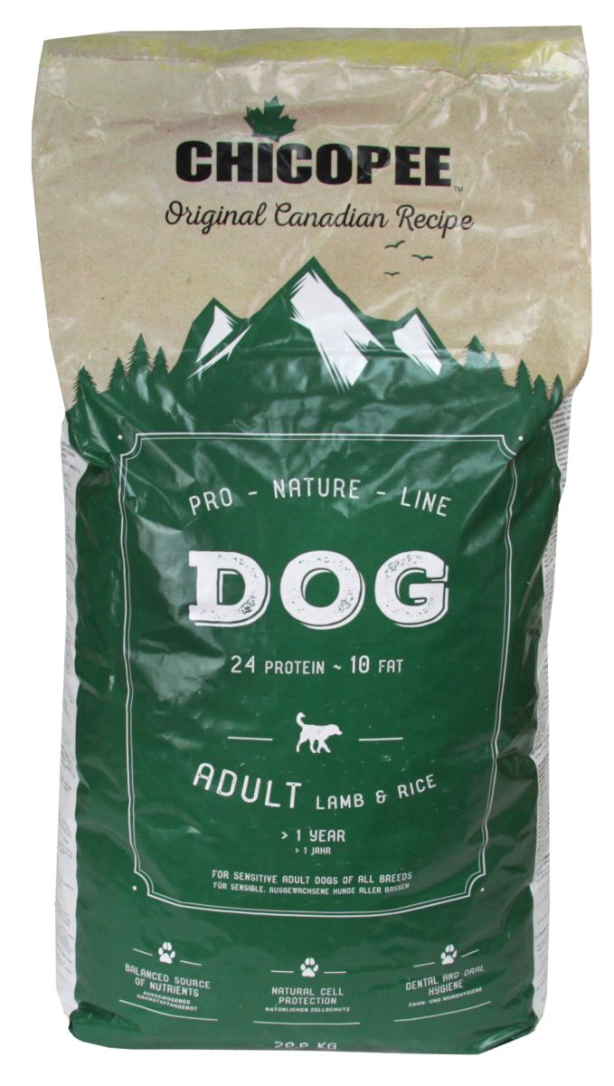 Chicopee Adult Dog Lamb & Rice 20 kg
