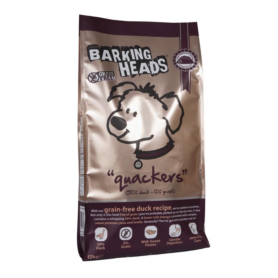 Barking Heads Quackers Grain Free 12kg.