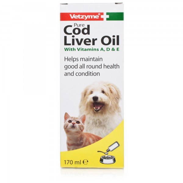Vetzyme Cod Liver Oil  150ml.