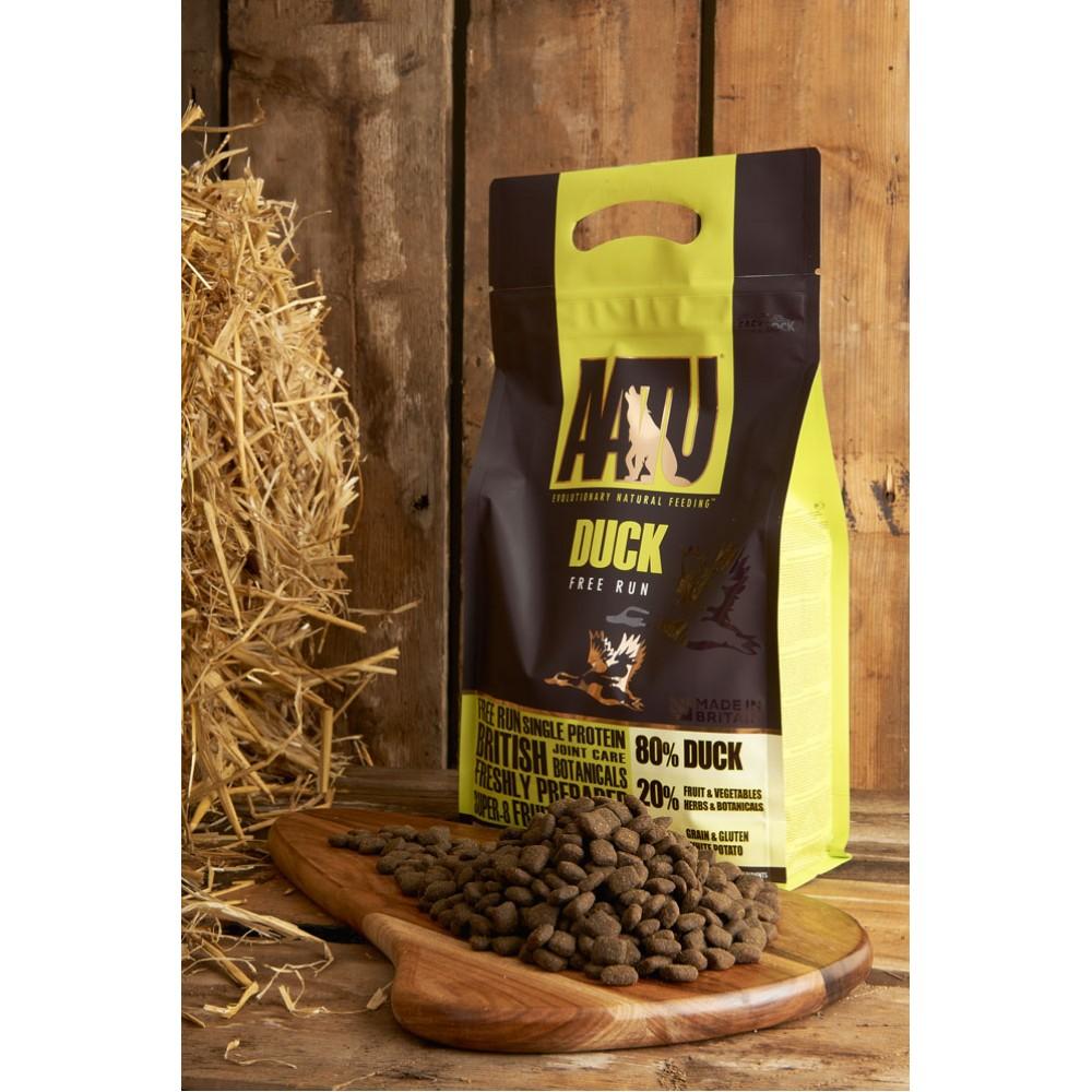 Begrūdis šunų maistas AATU 80/20 DUCK 10kg