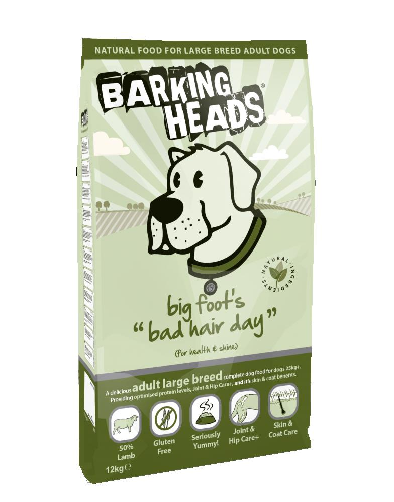 Barking Heads Big Foot Bad Hair Day 12kg.