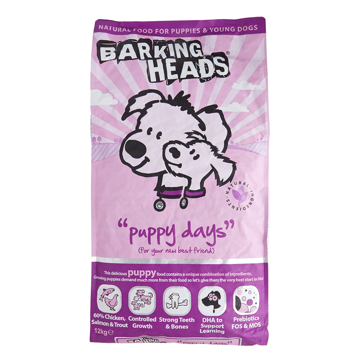 Barking Heads Puppy Days 12kg.