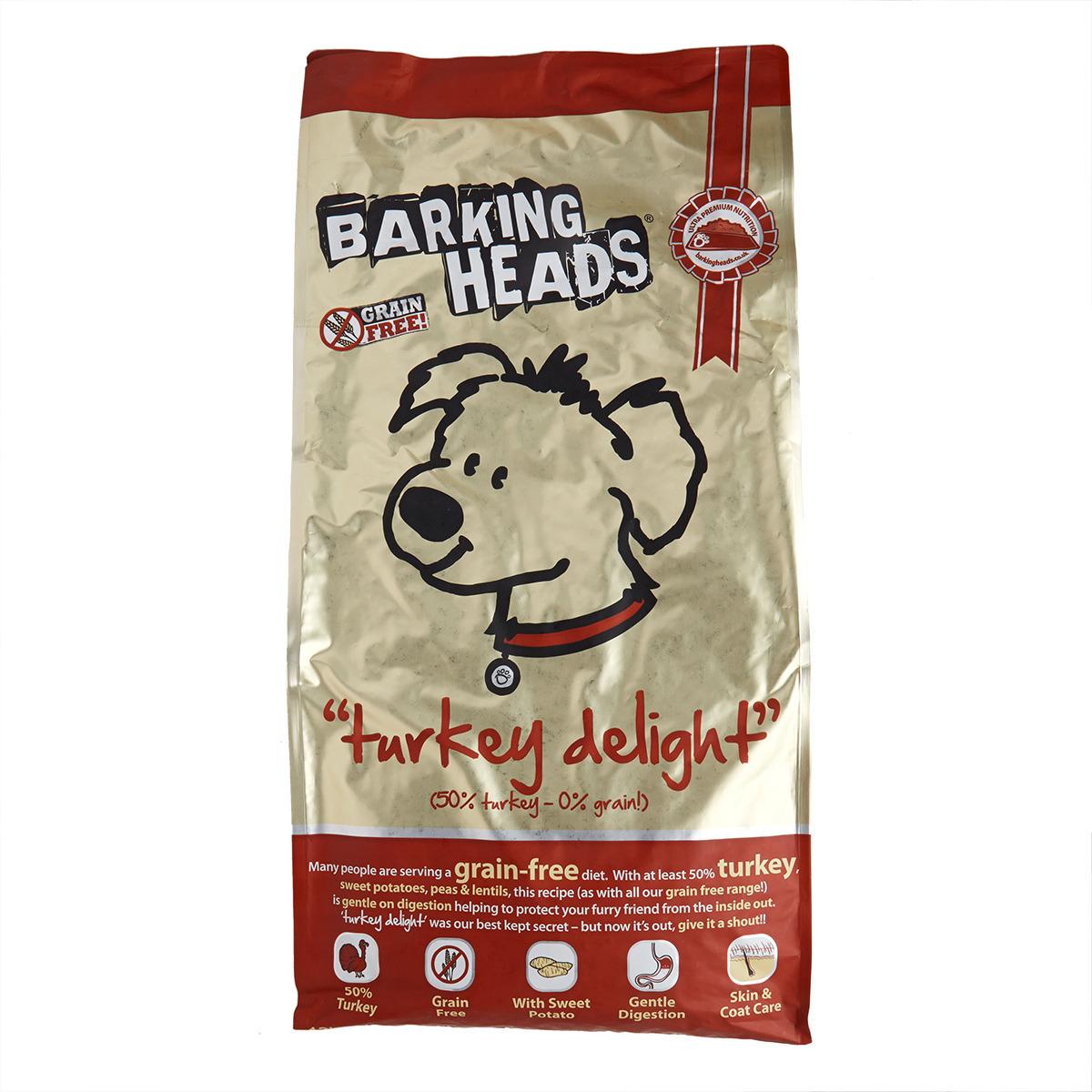 Barking Heads Turkey Delight 12kg.