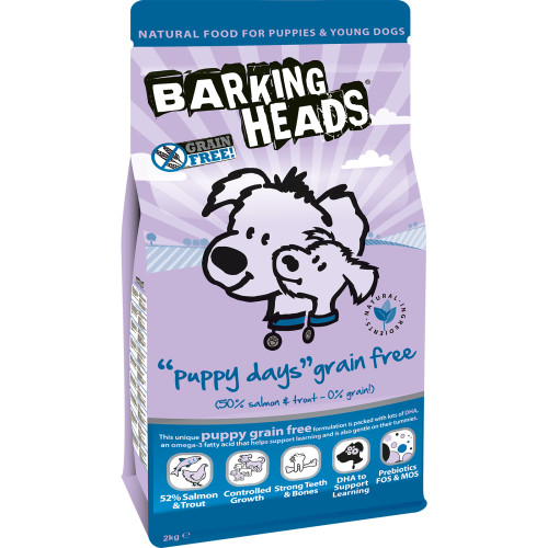 Barking Heads Puppy Days Grain Free 12kg.