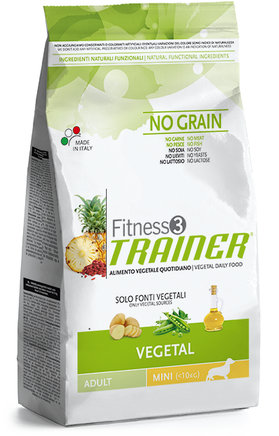 Trainer Fitness 3 Adult Mini NO GRAIN VEGETAL 7,5kg.