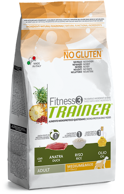 Trainer Fitness 3 Adult Medium/Maxi Duck*Rice 12,5kg