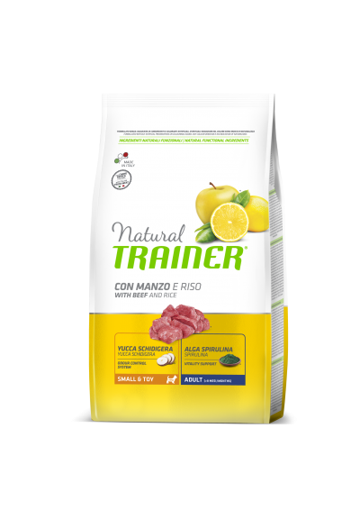 Trainer Natural Mini Adult (jautiena/ryžiai) 2kg