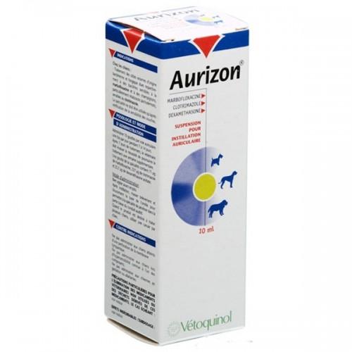 AURIZON - ausų lašai, aliejinė suspensija 10ml