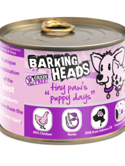 Barking Heads wet Puppy Days 200gr.