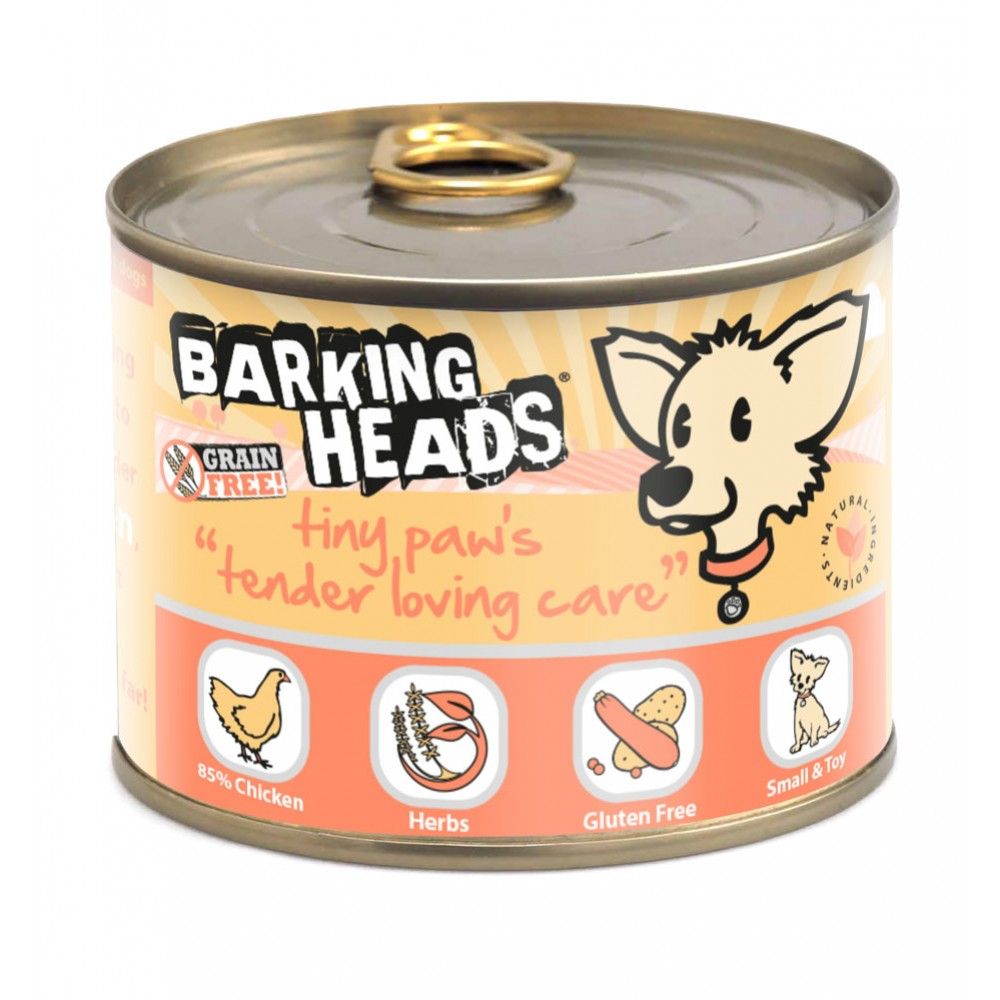 Barking Heads wet Tiny Paws Tender Lowing Care 200gr.