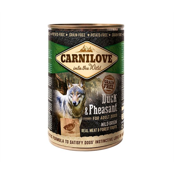 Carni Love Wild Meat Duck&Pheasant 400gr.
