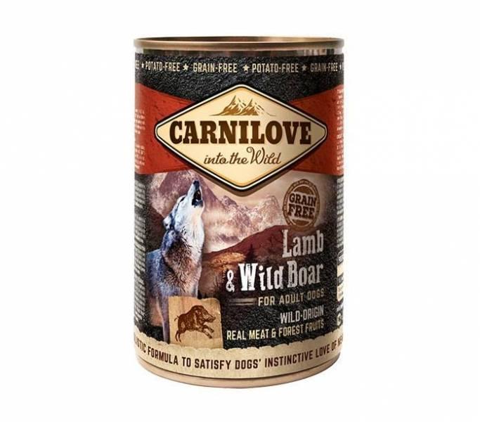 Carni Love Wild Meat Lamb&Wild Boar 400gr.