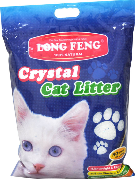 Long Feng silikoninis kačių kraikas kvepiantis 10 litrų