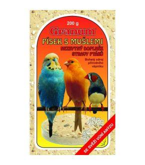 GRANUM smėlis paukščiams 200 g