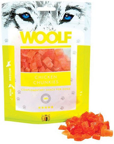 WOOLF Soft Chicken Chunkies 100gr.