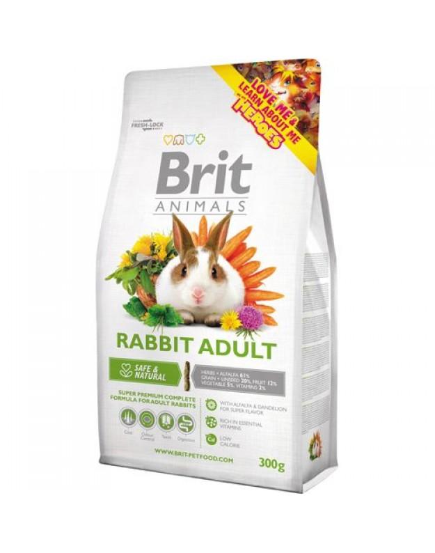 Brit Animals maistas suaugusiems triušiams 1,5kg.