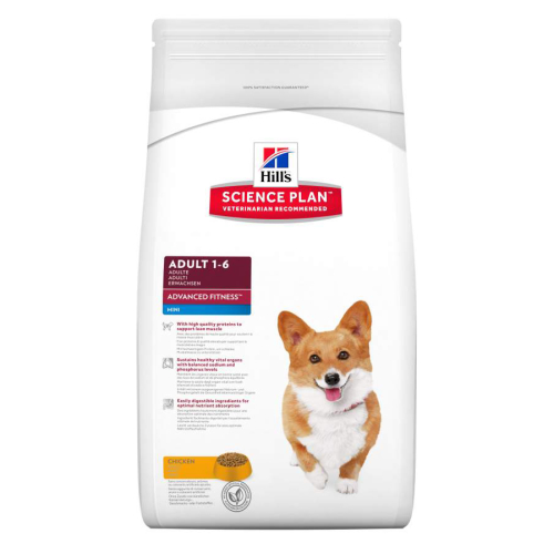 Hills Canine Adult Advanced Fitness Mini Chicken 7kg