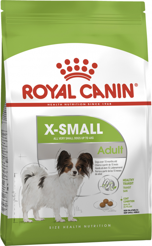 Šunų maistas Royal Canin X-Small Adult 500gr.